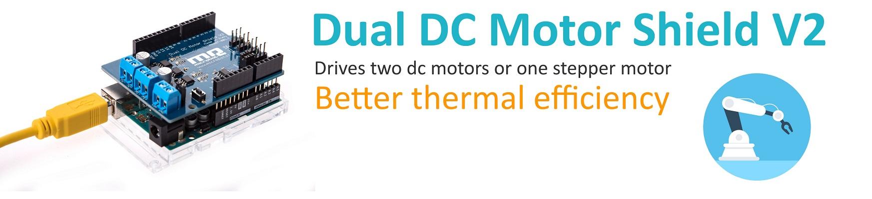 Dual DC Motor Shield V2