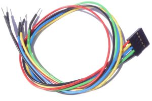 """5 pin Female Header 12"""" Cable for Arduino"""