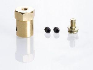 Mozzo esagonale 12mm con asse 4mm per Ruote da Modellismo